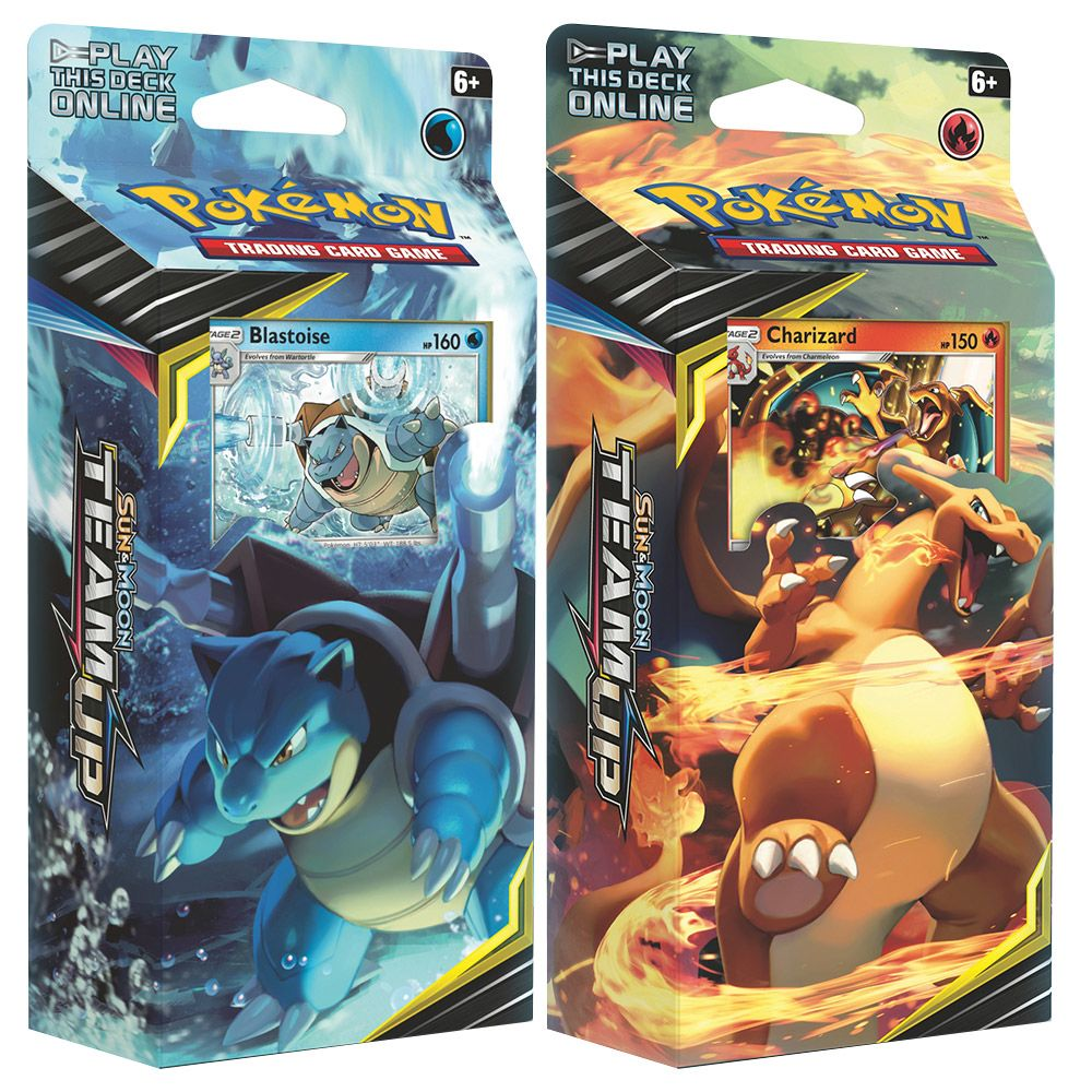 Sun & Moon Team Up - Theme Decks