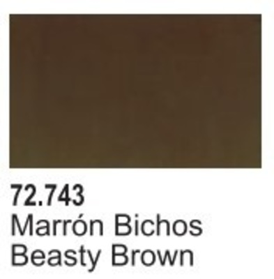 Game Air: Beasty Brown - Marron Bichos 72.743