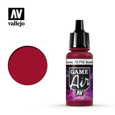 Game Air: Scarlett Red - Rojo Escarlata 72.712