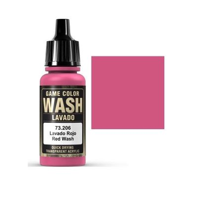 Game Color Wash: Red Wash - Lavado Rojo 73.206