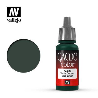 Game Color: Dark Green - Verde Oscuro 72.028