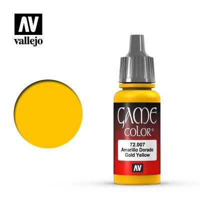 Game Color: Gold Yellow - Amarillo Dorado 72.007