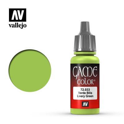Game Color: Livery Green - Verde Bilis 72.033