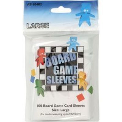 Board Game Sleeves Large - 59 x 92mm.