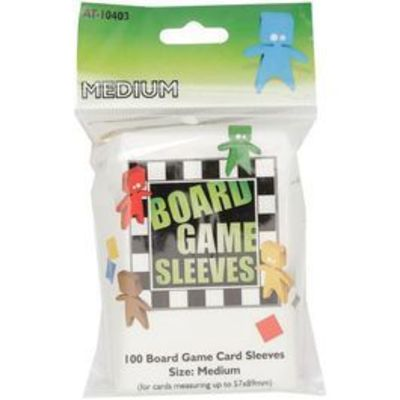 Board Game Sleeves Medium - 57 x 89mm.