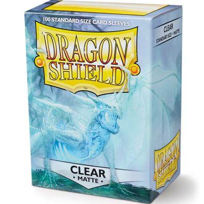 Protectores Dragon Shield Matte Standard Transparente - 100 Unidades