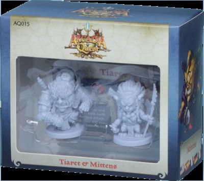 Arcadia Quest: Tiaret y Mittens (Español)