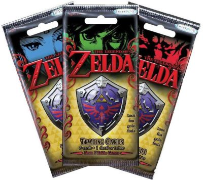The Legend of Zelda Trading Cards - Booster