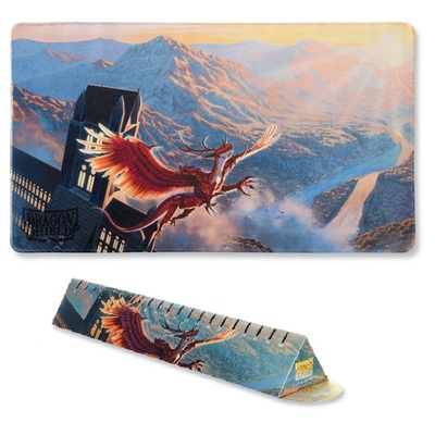 Dragon Shield Playmat Crimson Logi