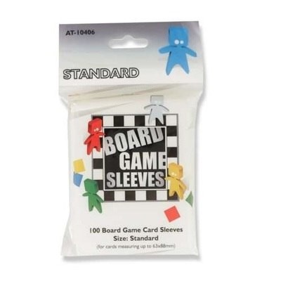 Board Game Sleeves Standard - 63 x 88mm.
