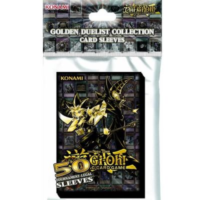 Yu-Gi-Oh! Golden Duelist Collection - Protectores - 50 Unidades