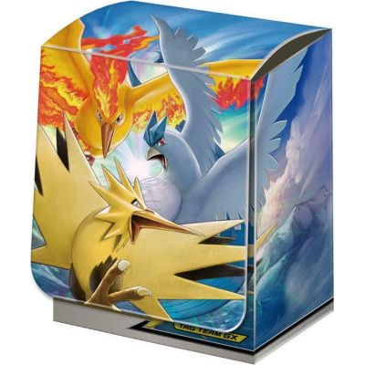Caja Porta Mazo Pokémon - Tag Team GX Anticuno, Zapdos & Moltres