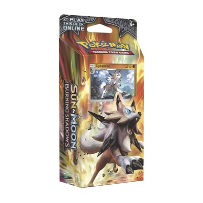 Sun & Moon Burning Shadow - Rock Steady Theme Deck