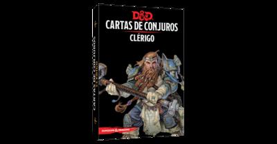 D&D 5th Ed. Cartas de Conjuros Clérigo