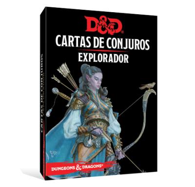 D&D 5th Ed. Cartas de Conjuros Explorador