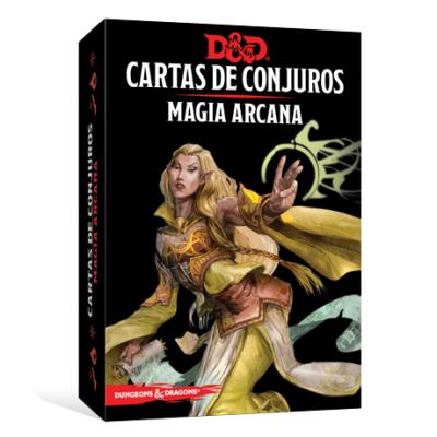 D&D 5th Ed. Cartas de Conjuros Magia Arcana