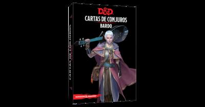 D&D 5th Ed. Cartas de Conjuros Bardo