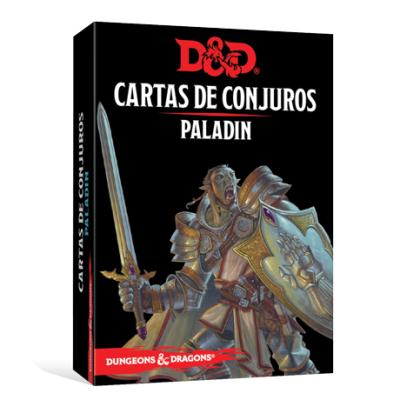 D&D 5th Ed. Cartas de Conjuros Paladín