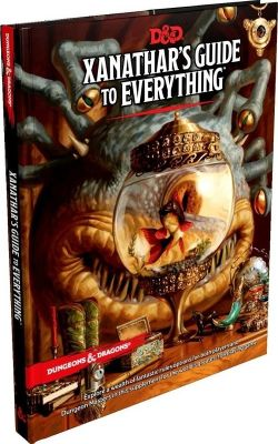 D&D 5th Ed. Xanathar's Guide to Everything