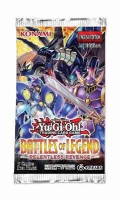 Battles of Legend Relentless Revenge - Booster