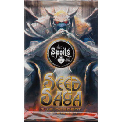 The Spoils Seed Saga The Descent of Gideon - Booster