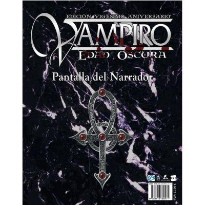 Vampiro: Edad Oscura Ed. 20° Aniversario - Pantalla del Narrador