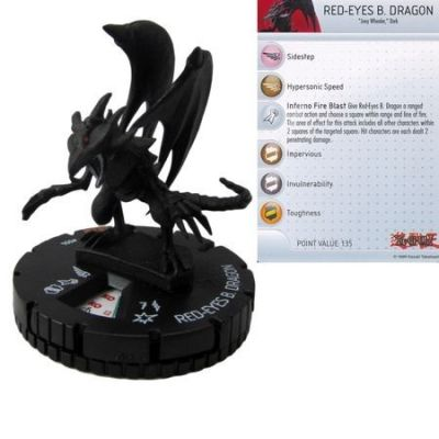 Yu-Gi-Oh! Heroclix - Red-Eyes Black Dragon