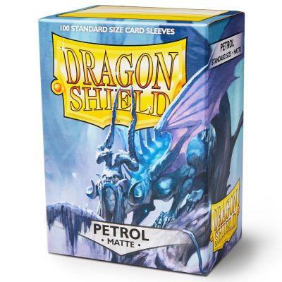 Protectores Dragon Shield Matte Standard Petrol - 100 Unidades