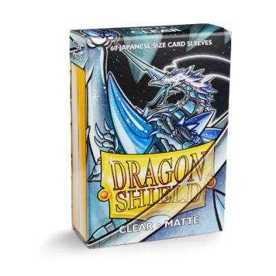 Protectores Dragon Shield Japanese Matte Transparente - 60 Unidades