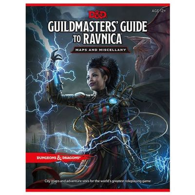 D&D 5th Ed. Guildmasters' Guide To Ravnica Maps and Miscellany
