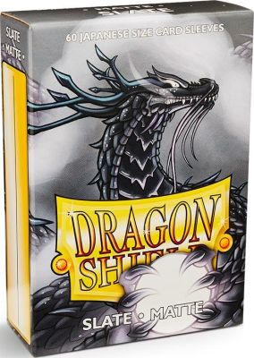 Protectores Dragon Shield Japanese Matte Slate - 60 Unidades