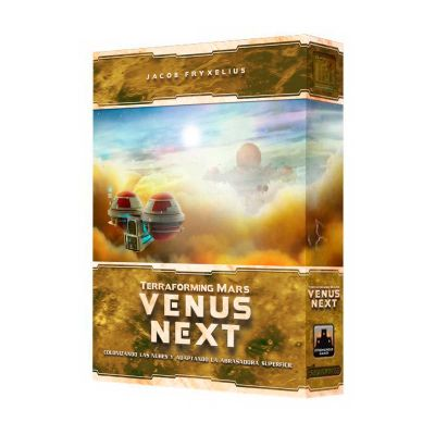 Terraforming Mars - Venus Next (Español)