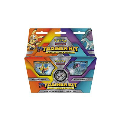 XY Trainer Kit Pikachu Libre and Suicune