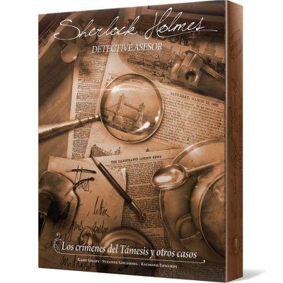 Sherlock Holmes Detective Asesor - Los Crímenes del Támesis y Otros Casos