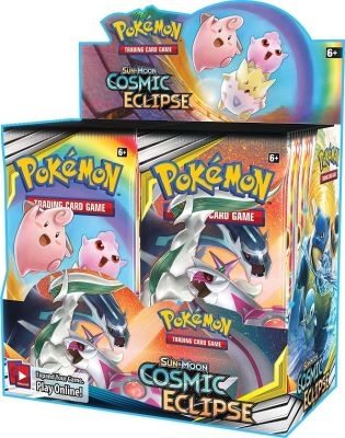 Sun & Moon Cosmic Eclipse - Booster