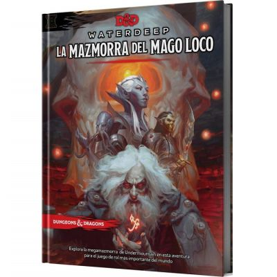 D&D 5th Edición Waterdeep: La Mazmorra del Mago Loco