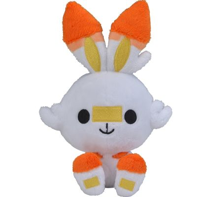 Peluche Pokémon Center Oficial - Scorbunny Doll