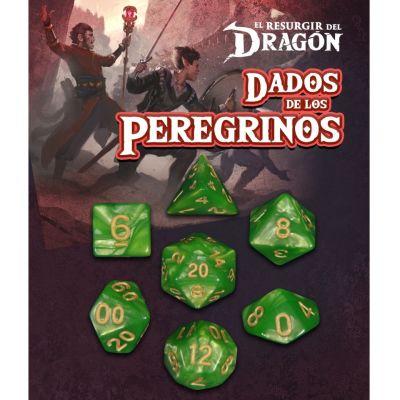 Set D7 Dados de los Peregrinos - Esmeralda Waroui