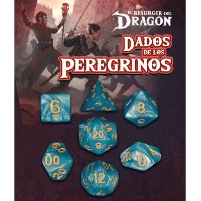 Set D7 Dados de los Peregrinos - Cian Dekaeler