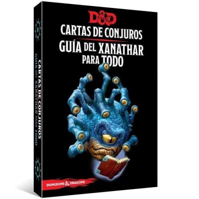 D&D 5th Ed. Cartas de Conjuros Guía del Xanathar para Todo