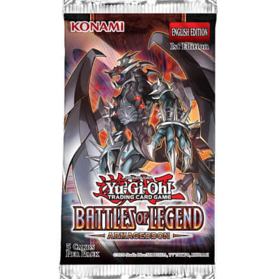 Battles of Legend Armageddon - Booster