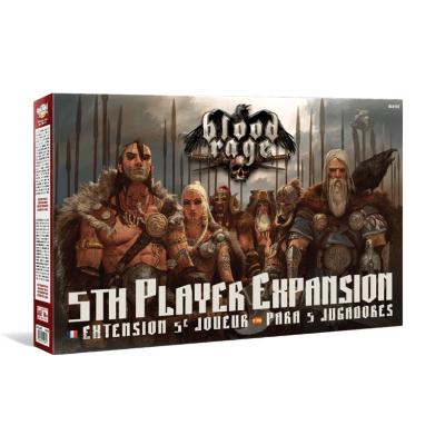Blood Rage - Expansion para 5 Jugadores