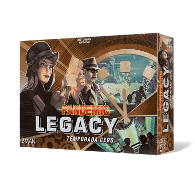 Pandemic Legacy Temporada Cero
