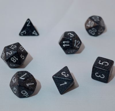 Set D7 Dados Speckled - Ninja