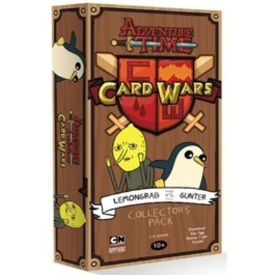 Adventure Time Card Wars: Lemongrab vs. Gunter - Collector's Pack