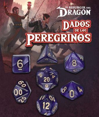 Set D7 Dados de los Peregrinos - Púrpura Praxis