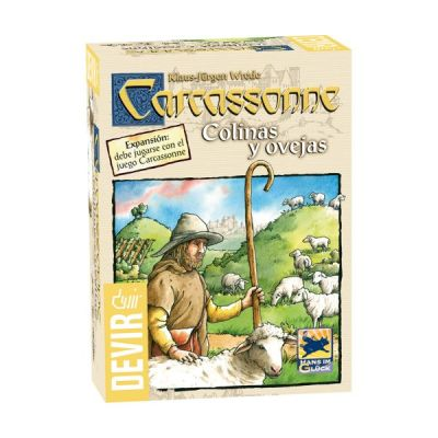 Carcassonne: Colinas y Ovejas