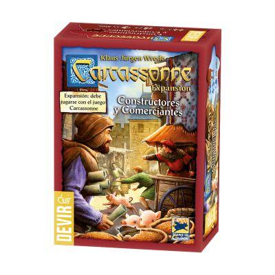 Carcassonne: Constructores y Comerciantes 2ª Edición