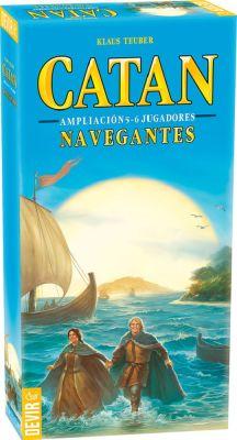 Catán: Navegantes Ampliación 5 y 6 Jugadores