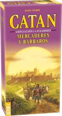 Catán: Mercaderes y Barbaros Ampliación 5 y 6 Jugadores